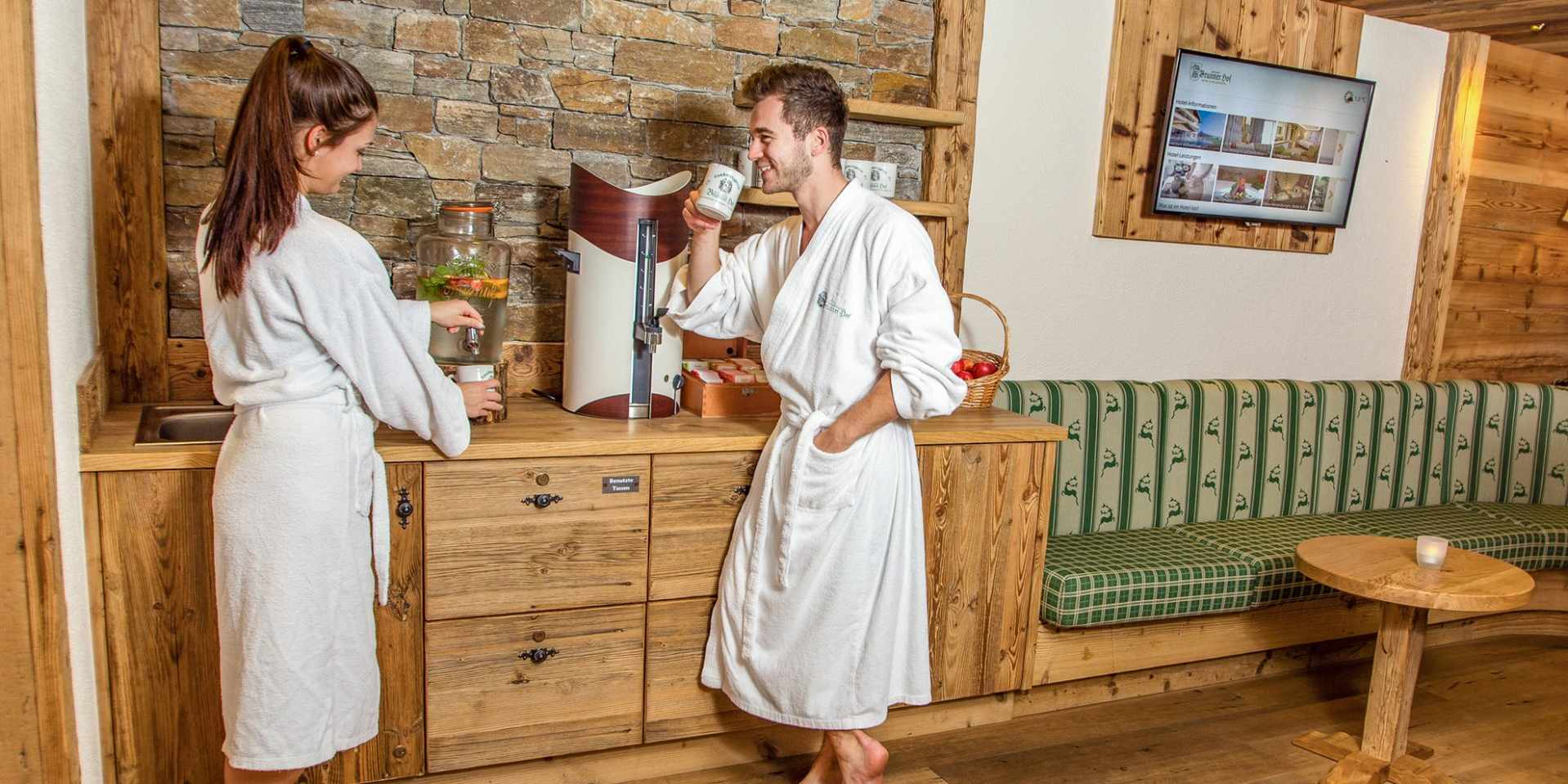 Vitalbar im Wellnesshotel